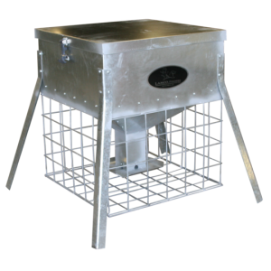 turkey and quail feeders