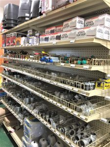 hardware and plumbing supplies